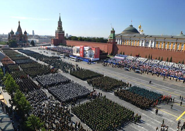 I soldati sulla Piazza Rossa