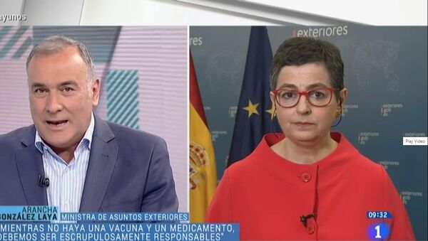 Il ministro degli Esteri spagnolo Arancha Gonzalez Laya - Sputnik Italia