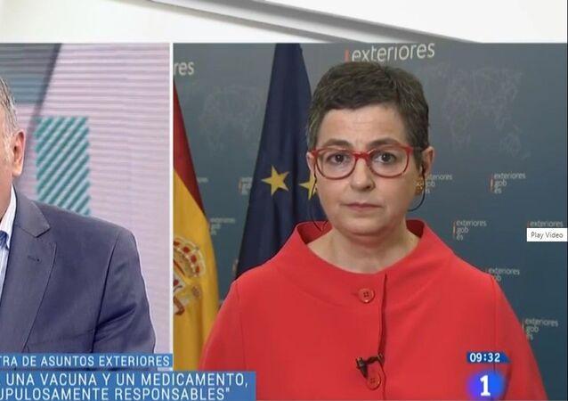 Il ministro degli Esteri spagnolo Arancha Gonzalez Laya