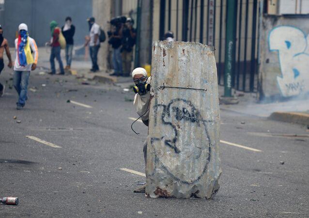 Manifestaciones contra el Gobierno en Venezuela