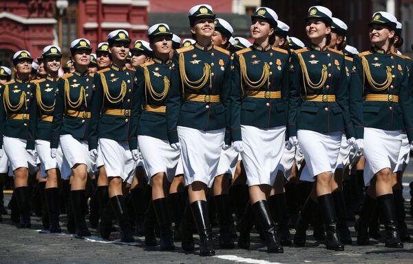 La parata militare per il 75esimo anniversario della Vittoria contro il nazifascismo in Piazza Rossa a Mosca. - Sputnik Italia