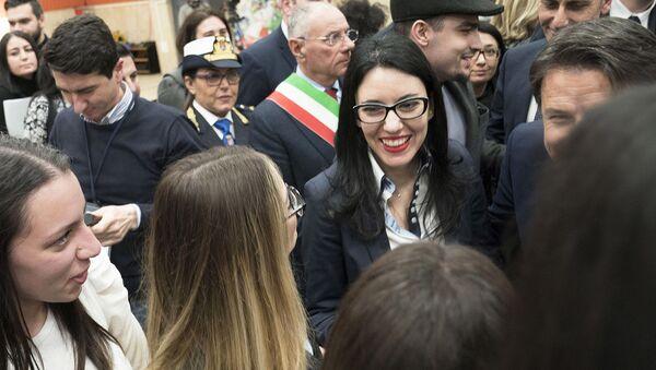 La Ministra Azzolina a Gioia Tauro alla presentazione del Piano per il sud - Sputnik Italia