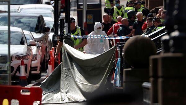 Polizia a Glasgow, sul luogo dell'attacco - Sputnik Italia