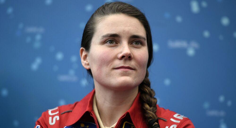 Astronauta russa Anna Kikina (foto d'archivio)