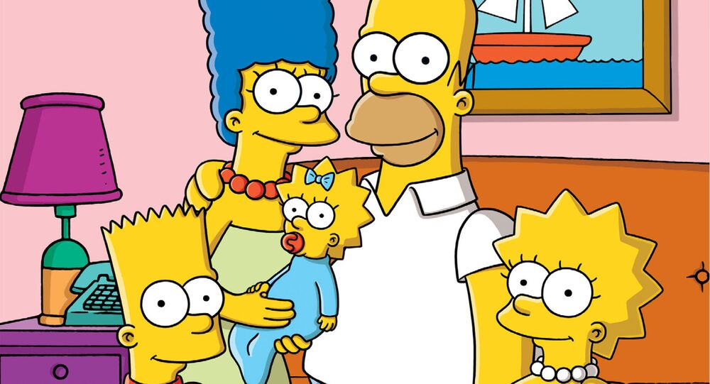 The Simpsons family