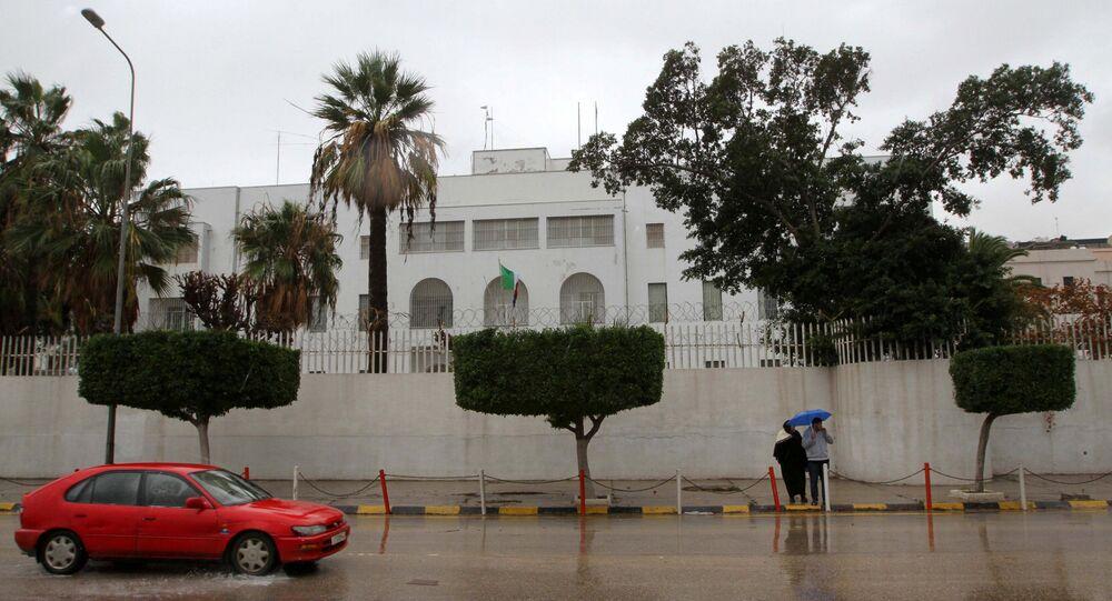 Ambasciata italiana a Tripoli (foto d'archivio)
