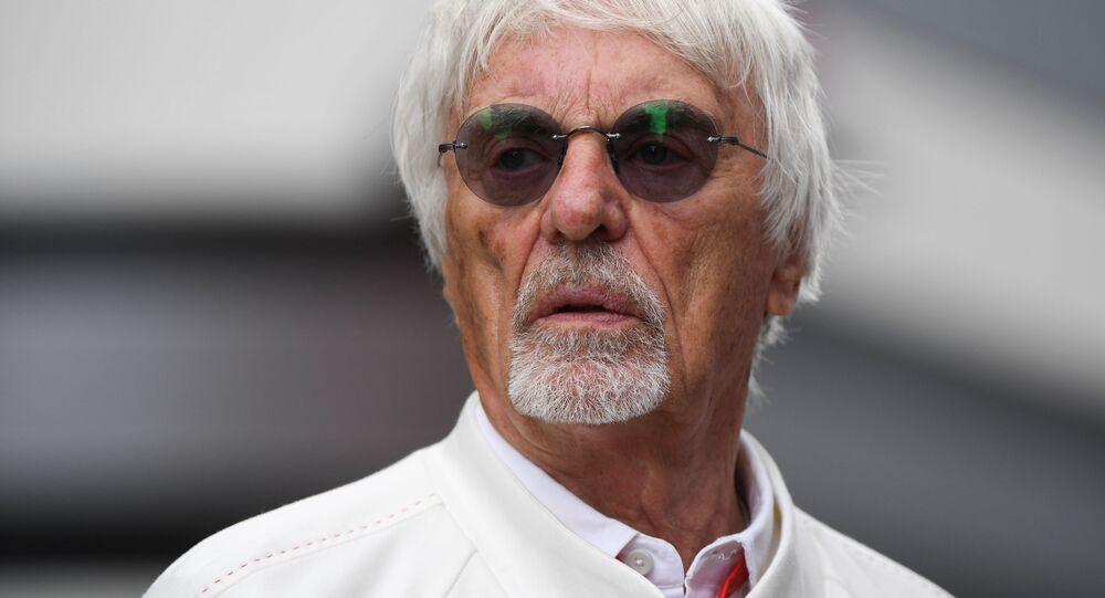 Chairman Emeritus of the Formula One Group Bernie Ecclestone