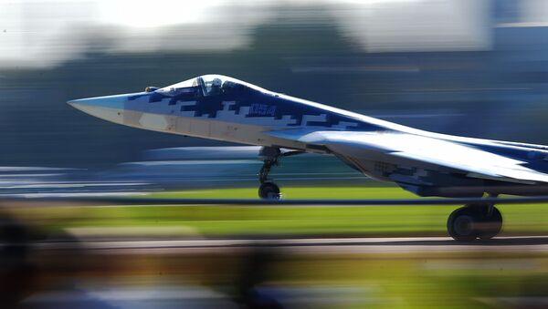 Caza ruso Su-57 - Sputnik Italia