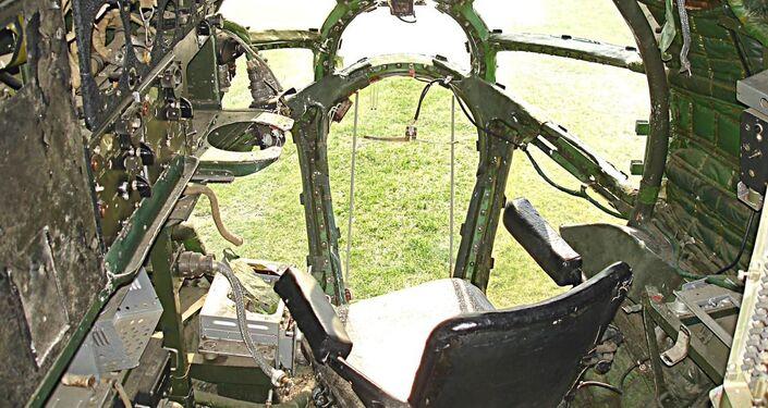 La cabina di navigazione nel 2009