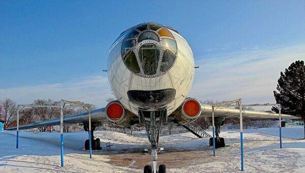 Il Tu-104, il quale Maria sta riportando al suo stato originale - Sputnik Italia
