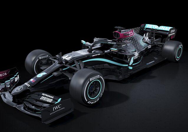 La Mercedes nella stagione 2020 di Formula 1 sfoggerà una livrea nera