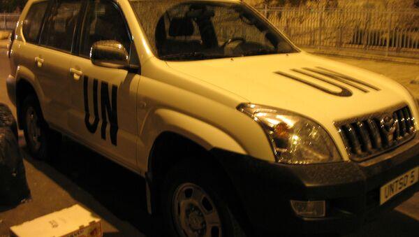 Un'auto dell'ONU - Sputnik Italia