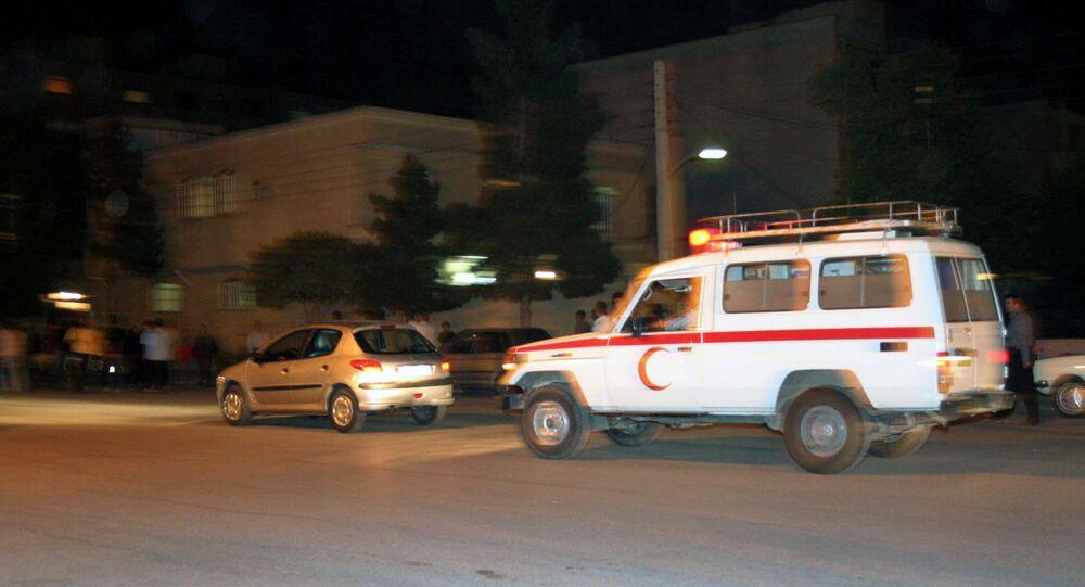 Ambulanza di Teheran