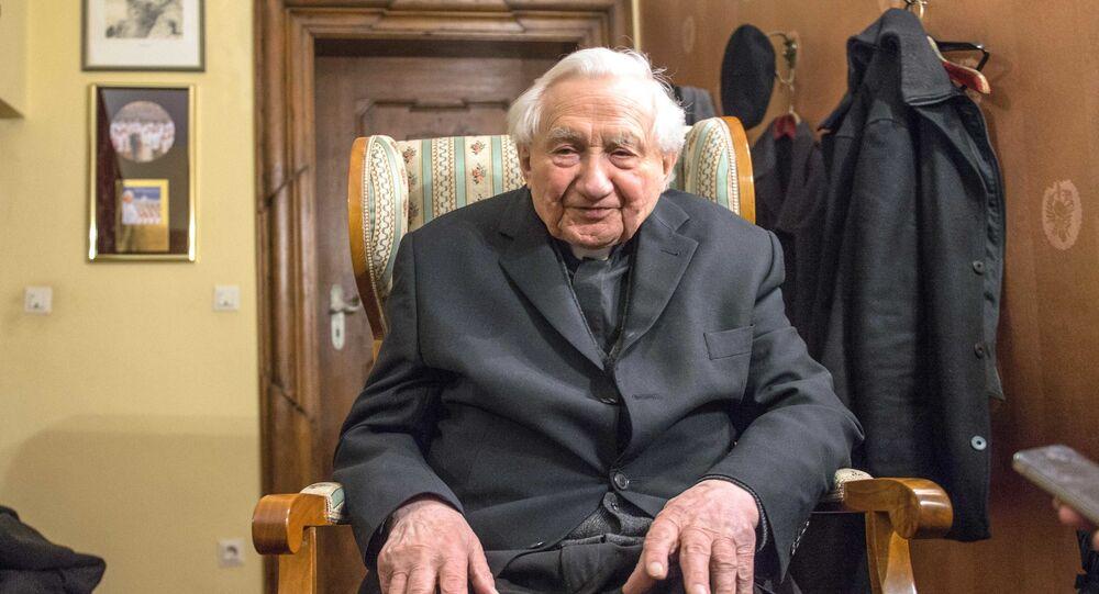 Georg Ratzinger, il fratello di Benedetto XVI
