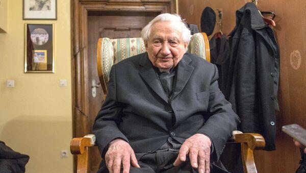 Georg Ratzinger, il fratello di Benedetto XVI - Sputnik Italia