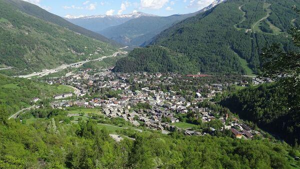 Veduta della stazione turistica alpina di Bardonecchia - Sputnik Italia