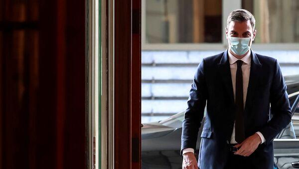 Il primo ministro spagnolo Pedro Sanchez - Sputnik Italia