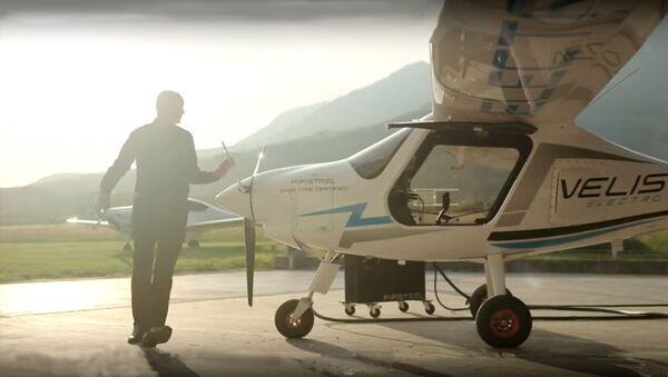 Aeroplano elettrico Pipistrel Velis Electro - Sputnik Italia