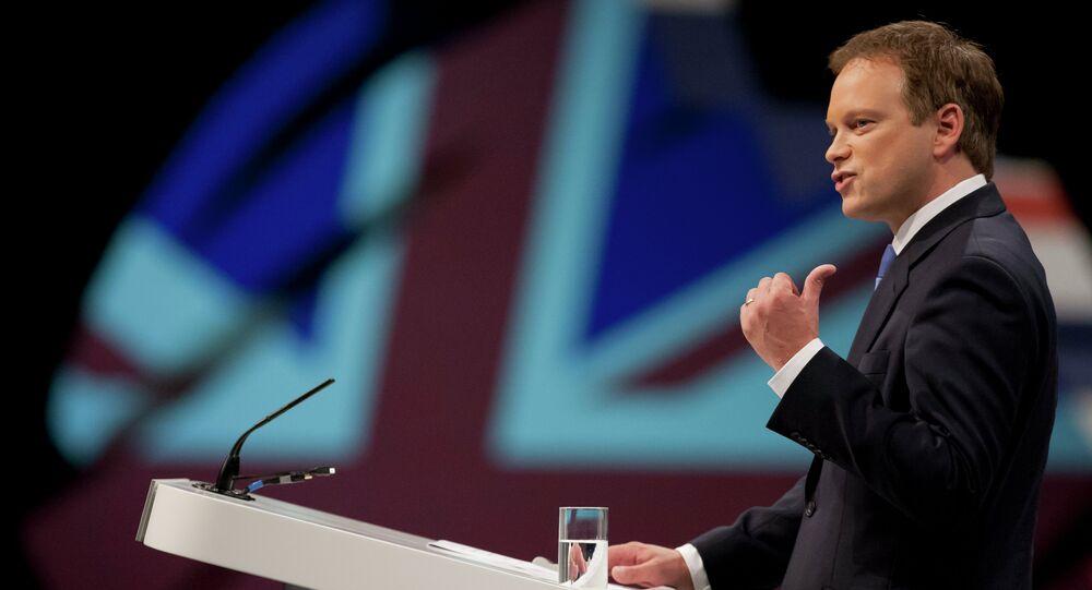 Ministro dei trasporti britannico Grant Shapps