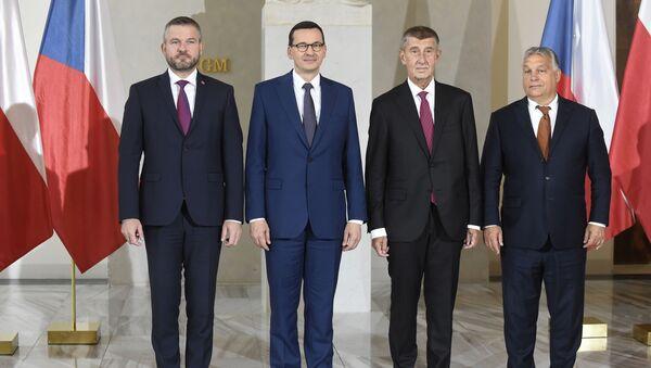 I premier del gruppo Visegrad a Praga - Sputnik Italia