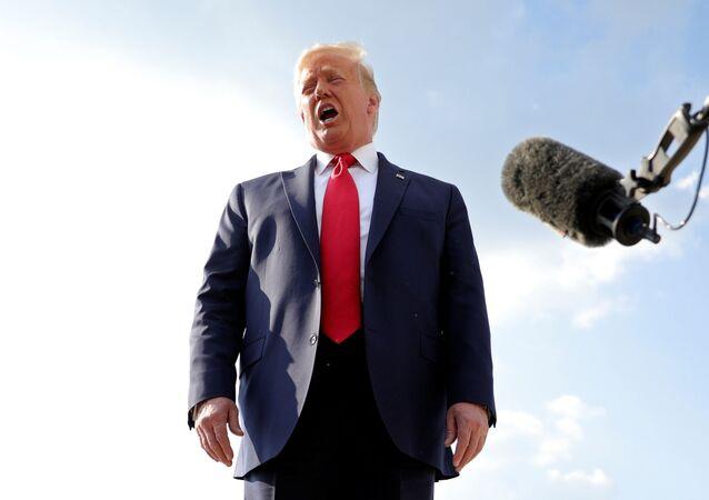 Trump (foto d'archivio)