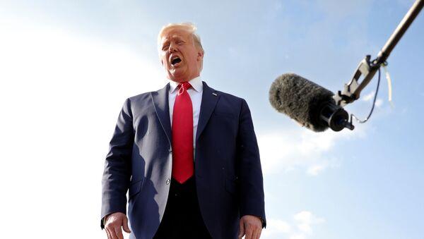 Trump al comizio del Monte Rushmore - Sputnik Italia