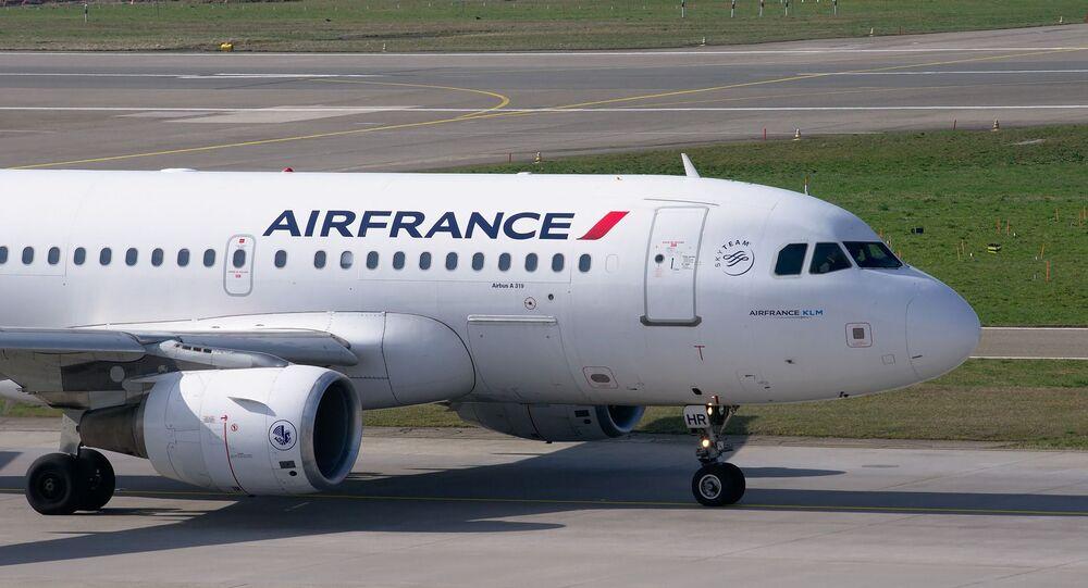 Aereo della compagnia Air France