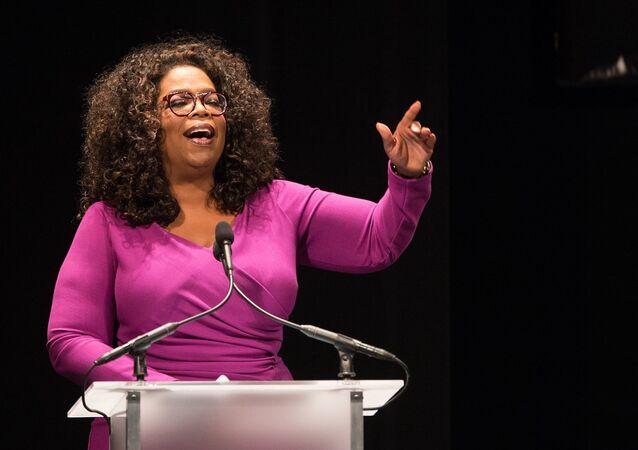 Conduttrice televisiva statunitense Oprah Winfrey