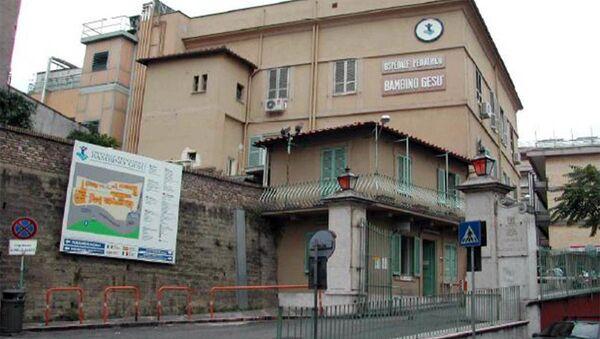 L'ospedale pediatrico Bambino Gesù, Roma - Sputnik Italia