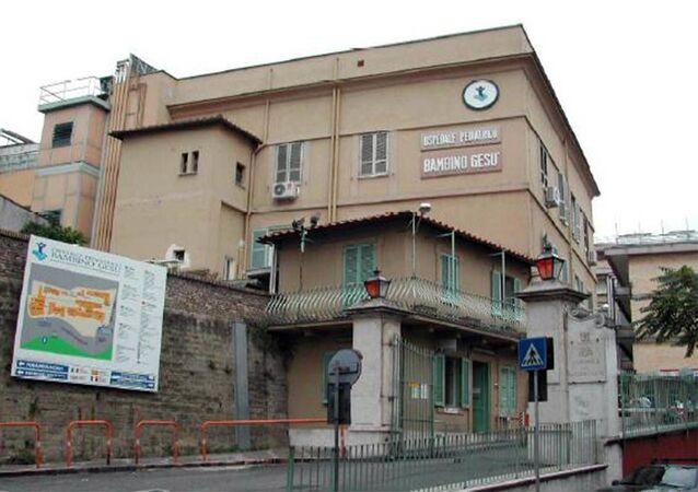 L'ospedale pediatrico Bambino Gesù, Roma
