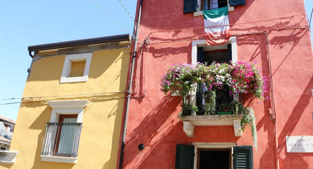 Le case con i balconi in Italia