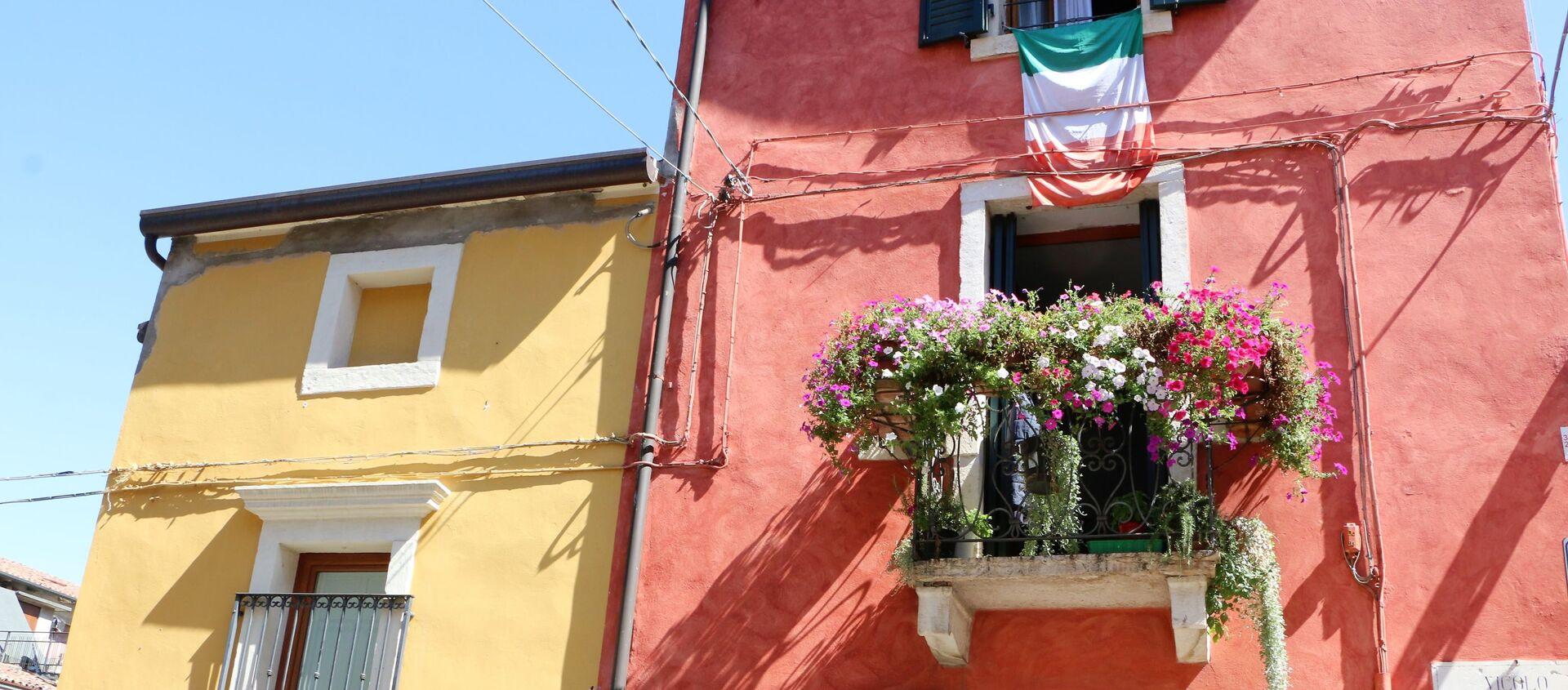Le case con i balconi in Italia - Sputnik Italia, 1920, 19.03.2021