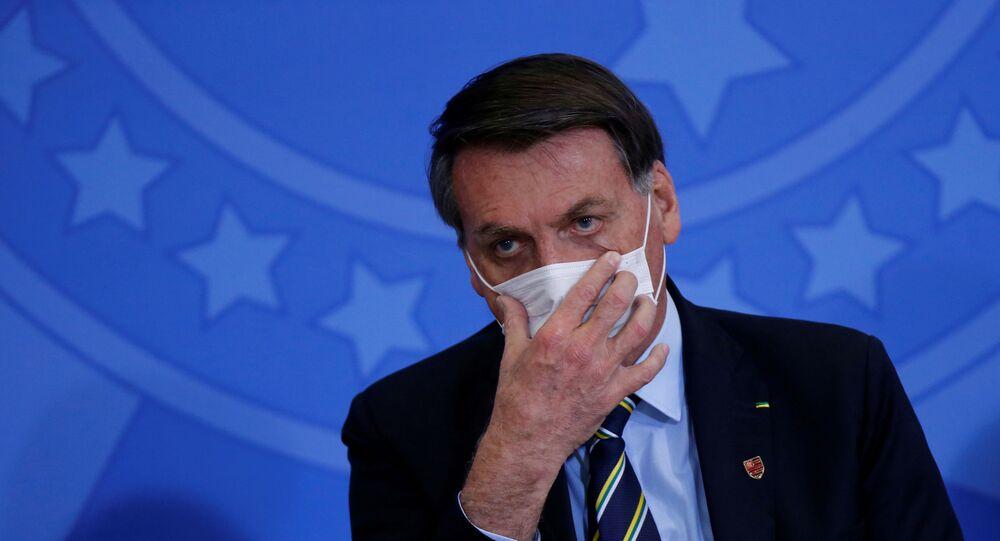 Il presidente brasiliano Jair Bolsonaro