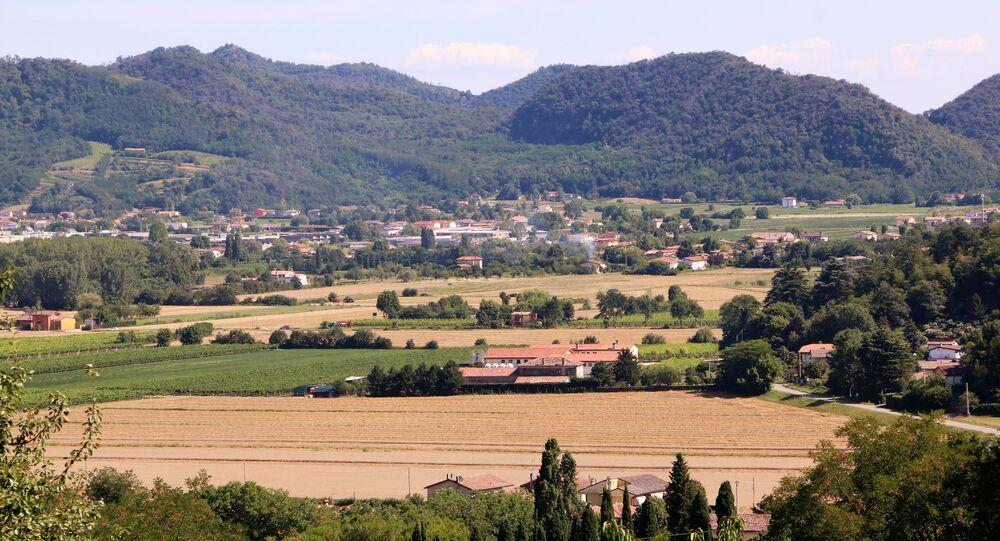 Vista dell'Italia