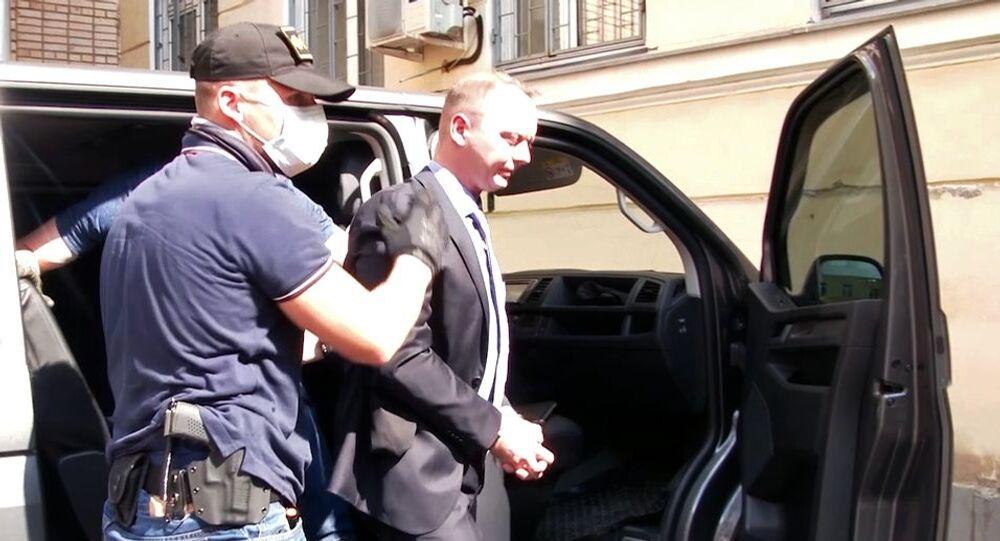 Arresto di Safronov