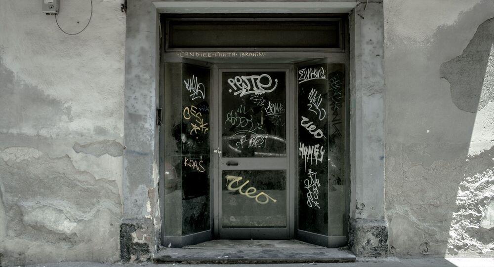 Magazzino confiscato alla mafia - Catania centro