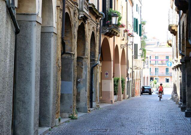 Una città in Italia