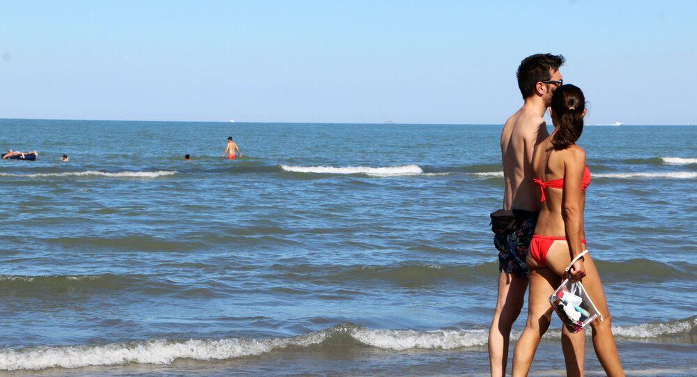 Al mare in Italia