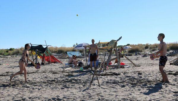 Giochi sulla spiaggia - Sputnik Italia