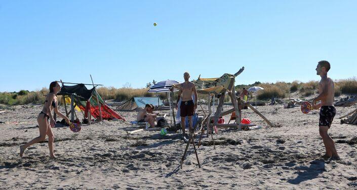 Giochi sulla spiaggia