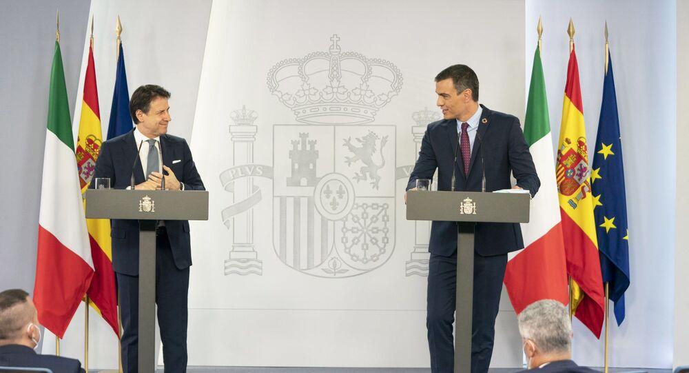 Il Presidente del Consiglio, Giuseppe Conte, ha incontrato a Madrid il Presidente del Governo spagnolo Pedro Sánchez