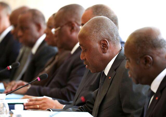 Amadou Gon Coulibaly (foto d'archivio)