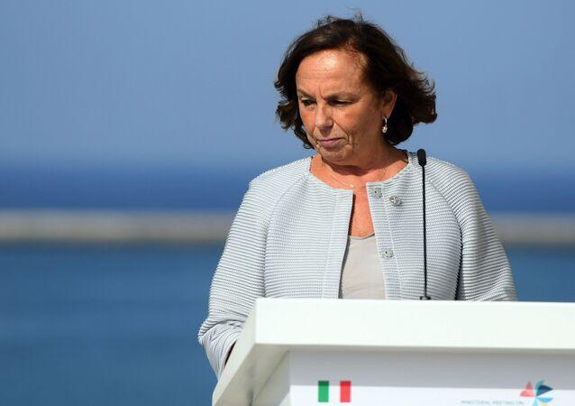 Ministro degli Interni dell'Italia Luciana Lamorgese
