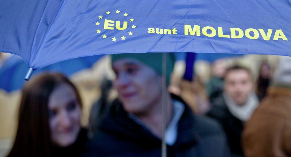Manifestazione europeista in Moldavia