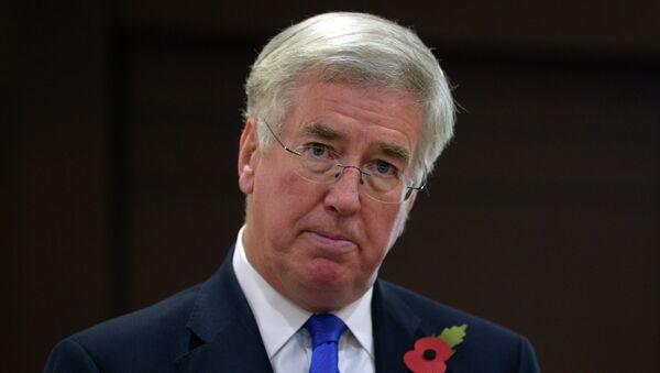 Ministro della Difesa britannico Michael Fallon - Sputnik Italia