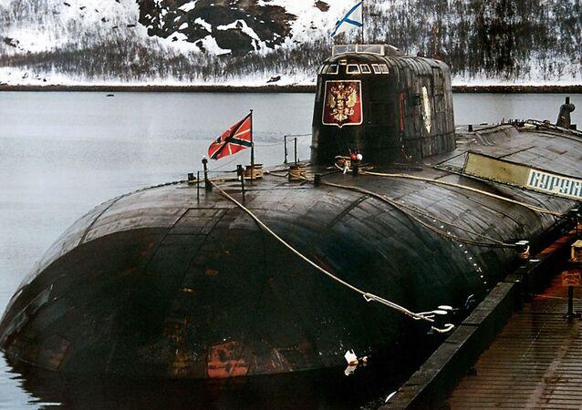 Tragedia del sottomarino Kursk.