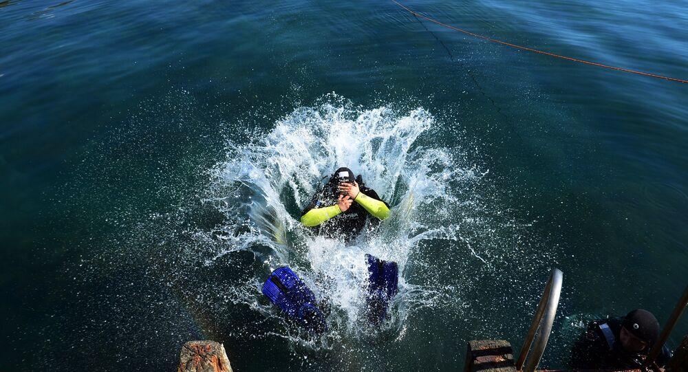 L'India e l'Egitto hanno espresso interesse nell'acquisto di equipaggiamento subacqueo e di sistemi d'immersione prodotti dall'azienda russa Tetis Pr