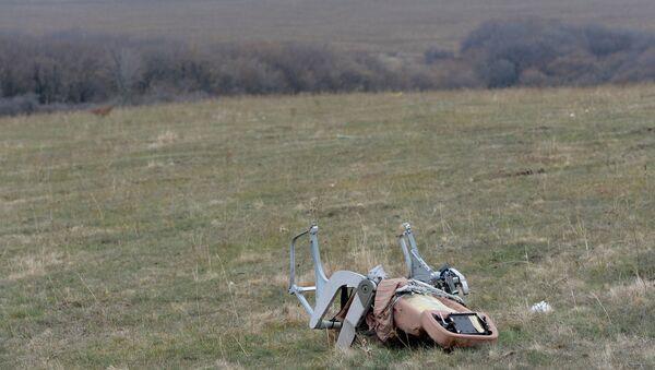 Un sedile del Boeing MH17 sul luogo dello schianto, a Shaktyorsk - Sputnik Italia
