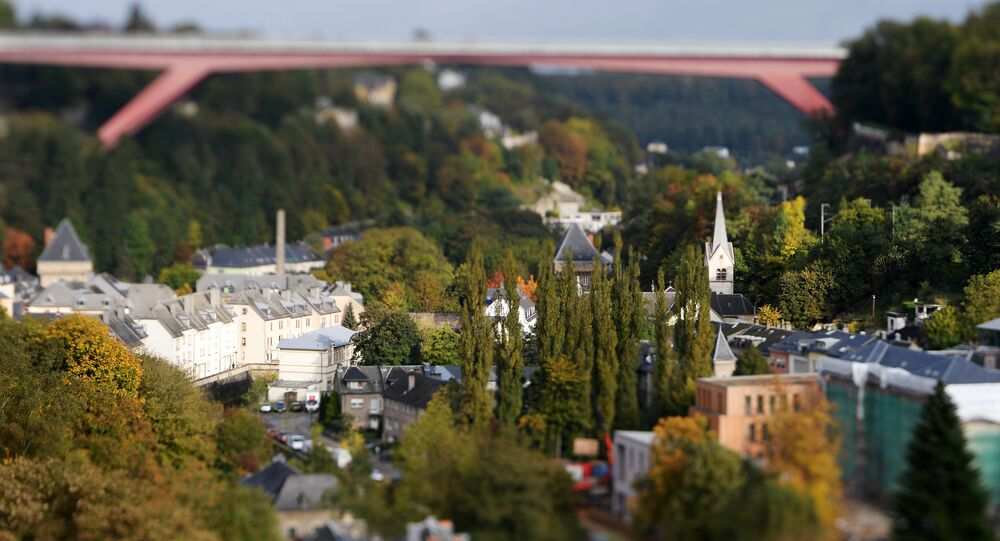 Un veduta di Luxembourg