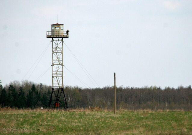 Confine tra Russia e Lettonia